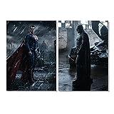 Batman v Superman Plakat A1 2er Sets / 7+8