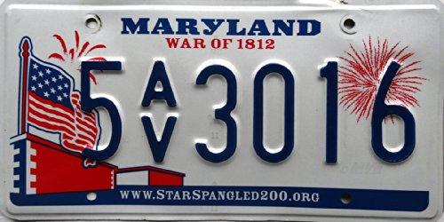 USA Nummernschild US Kennzeichen