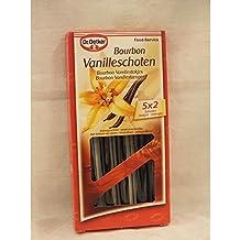 Dr. Oetker Bourbon Vanilleschoten 5 x 2 Stck. Packung (Bourbon Vanillestokjes)