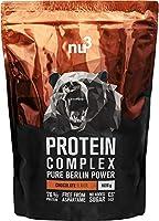 ●●● nu3 Proteine del Siero del Latte e Uovo in Polvere ●●●nu3 Protein Complex è un complesso proteico multicomponente costituito da proteine del latte (contiene principalmente caseina), concentrato di siero di latte e proteine dell'uovo. Un p...