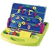 PlayGo - Pizarra/atril magnética, 90 piezas (Colorbaby 7330)