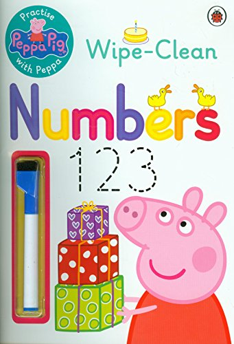 Peppa Pig: Practise with Peppa: Wipe-Clean Numbers (Kinder Zählen Bücher)