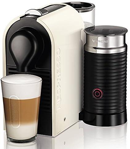 Krups XN2601 Nespresso UMilk Kaffeekapselmaschine (19 bar, inklusive Welcome Pack