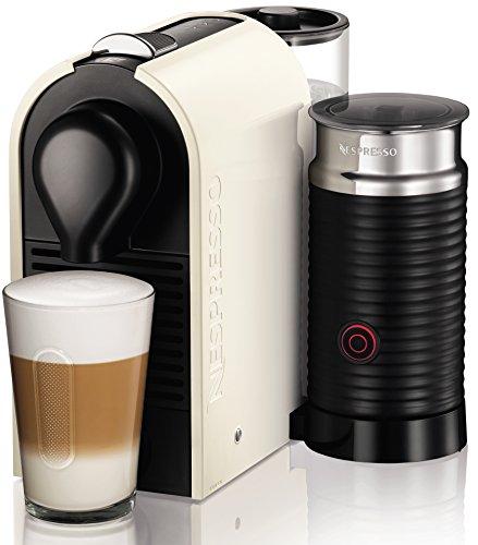 Krups XN2601 Nespresso UMilk Kaffeekapselmaschine (19 bar, inklusive Welcome Pack mit 16 Kapseln)...