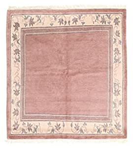 Tapis nepal original 197x215 tapis d 39 orient carr amazon - Tapis cuisine original ...