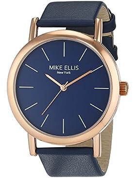 Mike Ellis New York Damen-Armbanduhr Sammi Analog Quarz Leder SL2979D