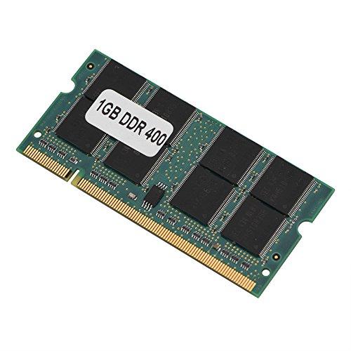 Bewinner RAM DDR para computadora portátil, 200Pin Mini DDR1 1GB 400Mhz PC3200 Memoria RAM, Adecuado para PC3200 DDR1 400 Memoria portátil, Proporciona un Mejor Rendimiento y Menos consum