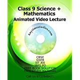 Anytimestudies Class 9 Science + Mathematics Animated Video Lecture in Hindi&English (DVD)