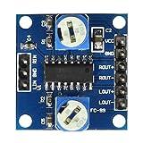 Topker PAM8406 Digital-Verstärker-Brett mit Lautstärkepotentiometer Stereo Noiseless Verstärkermodul D Klasse 2x5W