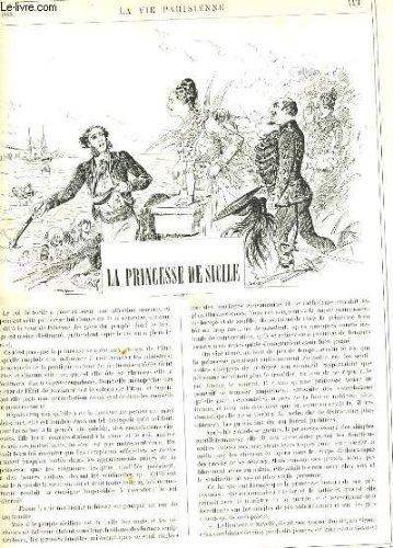 LA VIE PARISIENNE 26e année - N° 9 - LA PRINCESSE DE SICILE de POUP'. - ATOUR DE SAN-REMO de KLAK. - HYPNOTISME, HYPNOTISEES ET HYPNOTISEURS de BAC. par COLLECTIF