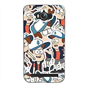 Bluethroat a pattern of famous character for kids Back Case Cover for Asus Zenfone Max ZC550KL :: Asus Zenfone Max ZC550KL 2016 :: Asus Zenfone Max ZC550KL 6A076IN