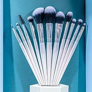 VIALA | Kit Brochas Maquillaje Profesional de 11 piezas. Pinceles de maquillaje profesional, set de brochas de maquillaje