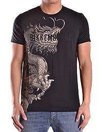 Dirk Bikkembergs Hombre C700SFDEB023C74 Negro Algodon T-Shirt
