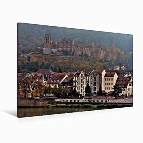 Calvendo Leinwand Heidelberger Schloss 120x80cm, Special-Edition Wandbild, Bild auf Keilrahmen, Fertigbild auf Hochwertigem Textil, Leinwanddruck, Kein Poster