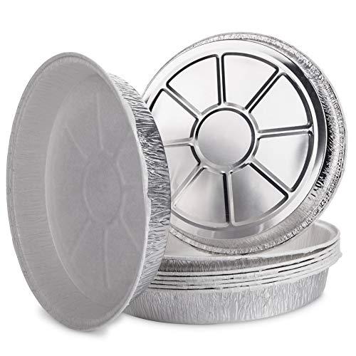 Life Story Bandejas de Aluminio Desechables con Papel de Horno, 29 x 4.5 cm, Pack de 5