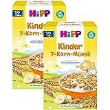 enfants Hipp 7 céréales muesli, 4 (4 x 200g)