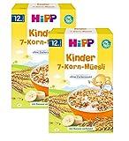 bambini Hipp 7 cereali muesli, 2 (2 x 200g)