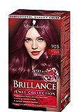 Schwarzkopf Brillance Haarfarbe 705 Dunkler Rubin