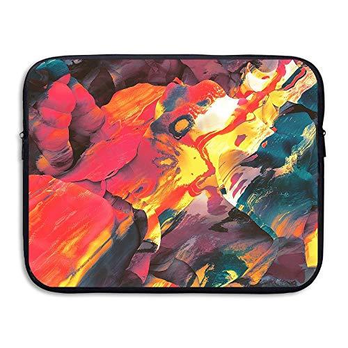 ASKSWF Computertasche Computer Bag Laptop Case Slim Sleeve Climbing Rainbow Rocks 15 Inch IPad MacBook Surface Book Notebook Ultrabook