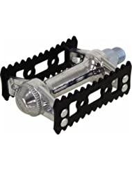 MKS Sylvan Stream Pedals, Silver/Black by Mks