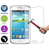 ZeWoo Le Film Protection En Verre Trempé - Pour Samsung Galaxy Trend S7560 / Trend Plus S7580 Le Filtre Protecteur D'écran(9H *2.5D, 0,33mm)