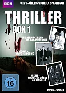 Thriller Box 1: Sr. Samantha Ryan, Spooks, Hustle [3 DVDs]