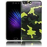thematys Passend für Leagoo T5 Camouflage Silikon Schutz-Hülle weiche Tasche Cover Case Bumper Etui Flip Smartphone Handy Backcover Schutzhülle Handyhülle Leagoo T5