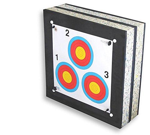 STRONGHOLD Schaumscheibe Crossbow I bis 225 lbs / 350 fps (60x60x20 cm) (Sport-armbrust Zubehör)