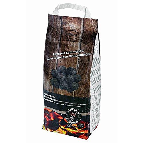 Rösle Grillbriketts 8 kg für Zero Smoke, schwarz