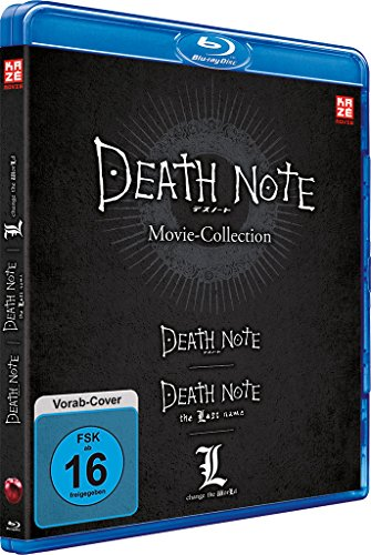 Death Note Movies 1-3: Death Note / The Last Name / L-Change the World [3 Blu-rays]