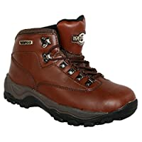 LADIES PEAK LACE UP PREMIUM LEATHER UPPER WATERPROOF WALKING/HIKING TREKKING BOOT 28