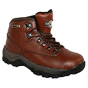 51cIAYYqLuL. SS300  - LADIES PEAK LACE UP PREMIUM LEATHER UPPER WATERPROOF WALKING/HIKING TREKKING BOOT
