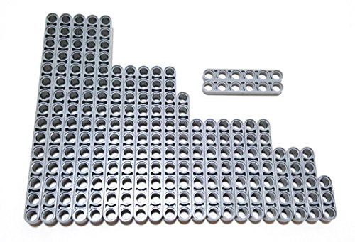 lego-technic-beams-set-lb-gray-size-15-1197653-23-pieces-by-lego