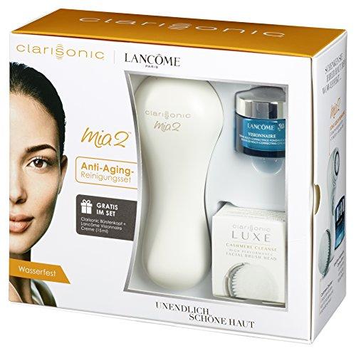 Clarisonic Mia 2Cepillo de limpieza facial eléctrico anti-edad fop Set