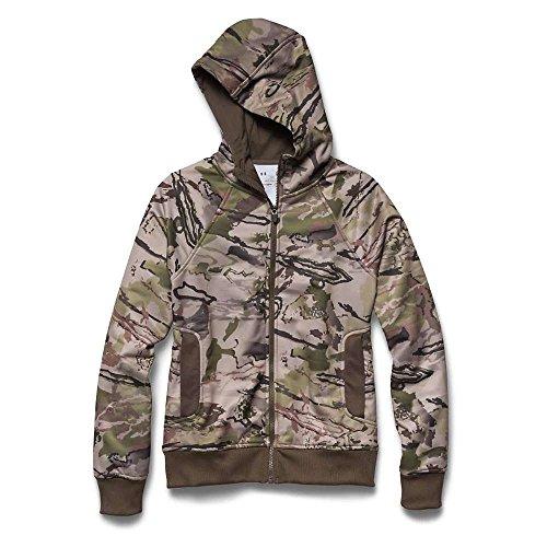 Under Armour pour femme UA Camo Sweat à capuche zippé pour Ridge Reaper Camo Barren / Hearthstone