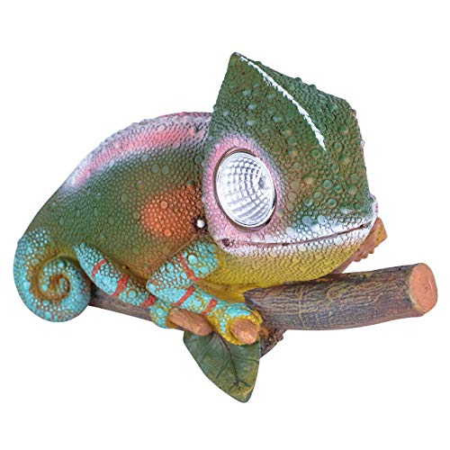 RM S of Commerce Solar Eyes Led Animals Chameleon as Figure of garden with Solar lighting
