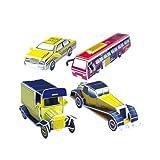 1 Set lehrreich 3D Modell Puzzle Auto Serien 26 Teile EPS