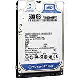 WD Blue Mobile WD5000BEVT Disque dur interne 2.5'' SATA II 500 Go