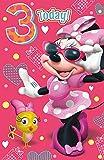 Minnie Maus Alter 3Geburtstagskarte