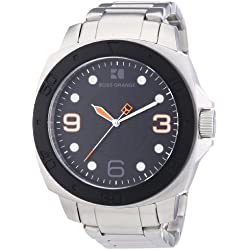 Boss Orange Men's Quartz Watch 1512842 1512842 with Metal Strap