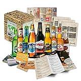 """""""CERVEZAS DEL MUNDO"""" Selección de las 9 cervezas más exclusivas del mundo. Paquete de degustación. Excelente idea de regalo para hombres jóvenes y adultos"""