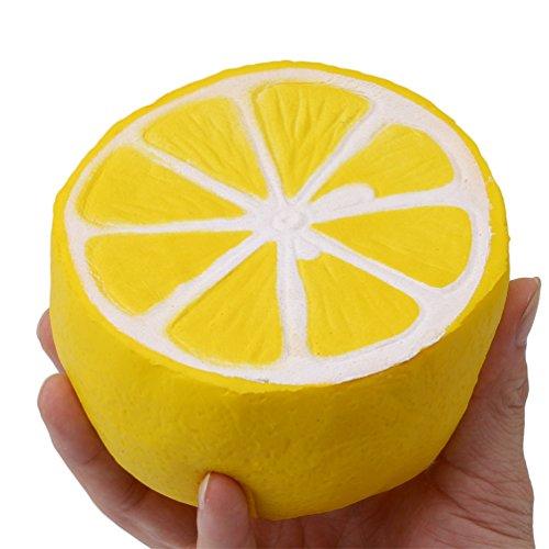 Preisvergleich Produktbild Albeey Zitrone Squishy Spielzeug Slow Rising Entspannung Spielzeug Weiches Hand Antistress Spielzeug