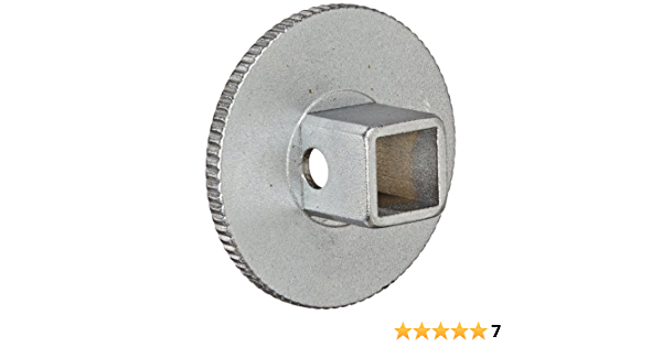 Silver Stahlwille STW432M 3//8-Inch Female Greater than 1//2-Inch Male Grip Adaptor
