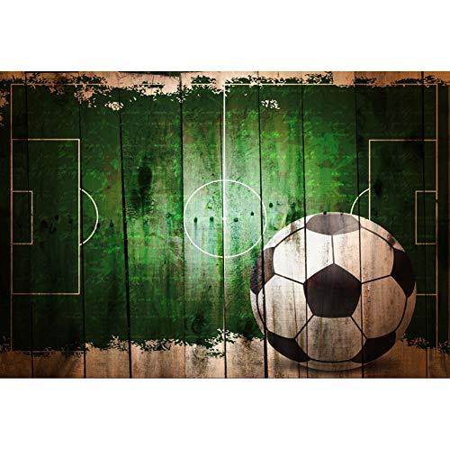 Cassisy 3x2m Vinilo Deporte Telon de Fondo Fútbol Campos de fútbol Shabby...