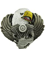 Eagle And V-Engine Belt Buckle in one of my Presentation Boxes.