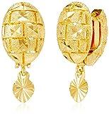 Jewel House Golden Plated Stud Earrings ...