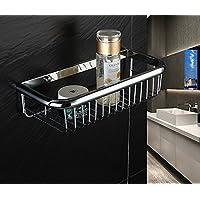 WANDOM Zahnputzbecherhalter Schwarz Kupfer Hand Gebürstet Wand Doppelbecher Handtuchständer Aufbewahren & Ordnen