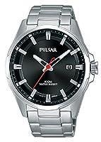 Pulsar Reloj Analógico para Hombre de Cuarzo con Correa en Acero Inoxidable PS9509X1 de Pulsar