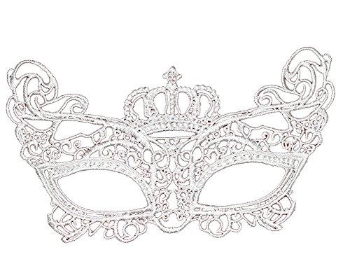 ShallGood Minetom Masquerade Schwarz Spitze Weinlese Retro Elegant Maske Damen Sexy Augenmaske Für Halloween Karneval Party Kostüm Ball Zusätze #29 One Size