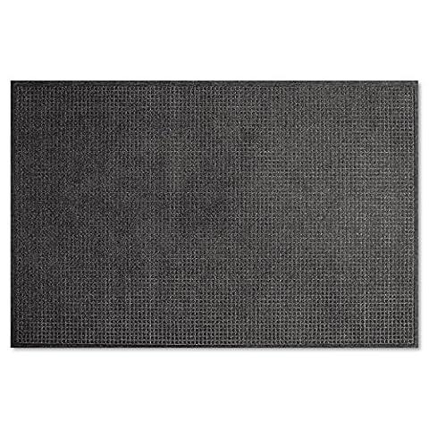 EcoGuard Indoor/Outdoor Wiper Mat, Rubber, 48 x 72,
